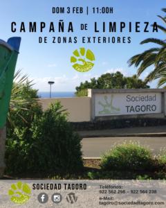 Jornada de limpieza @ Sociedad Tagoro