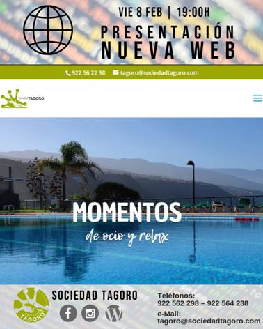 Presentación nueva web