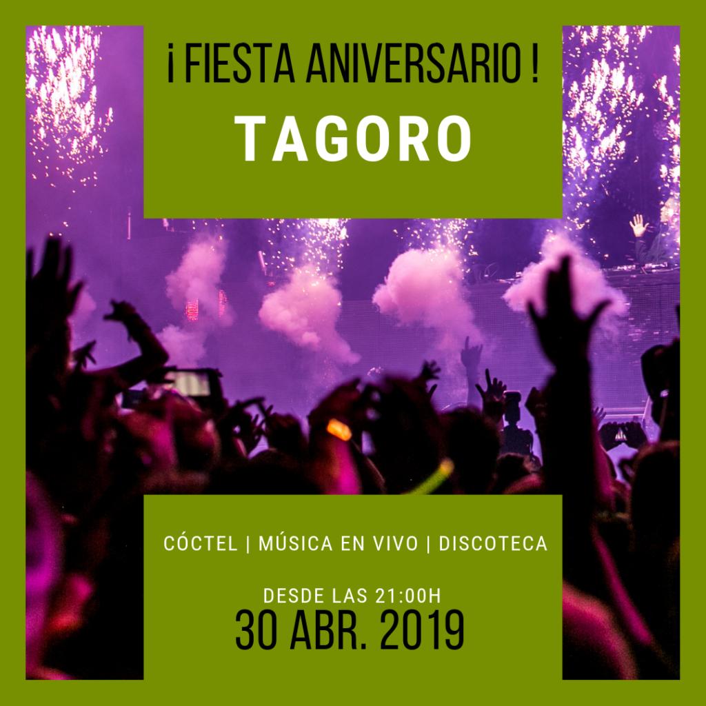 Fiesta 38º Aniversario Sociedad Tagoro