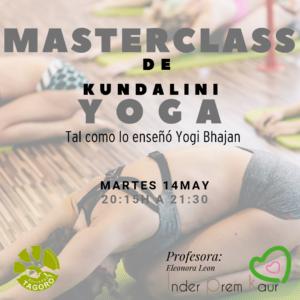 MasterClass Gratuita de Yoga