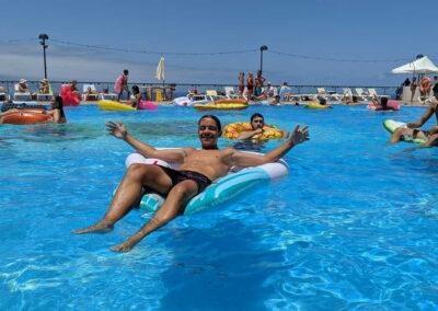 Fiesta Flotador Tropical Sociedad Tagoro 00001