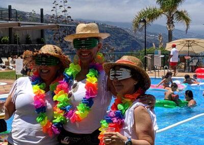 Fiesta Flotador Tropical Sociedad Tagoro 00003