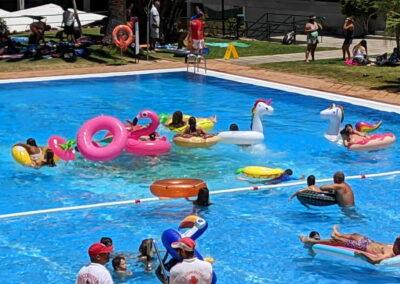 Fiesta Flotador Tropical Sociedad Tagoro 00011