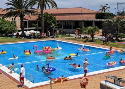 Fiesta Flotador Tropical Sociedad Tagoro 00012