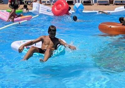 Fiesta Flotador Tropical Sociedad Tagoro 00013