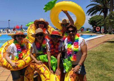 Fiesta Flotador Tropical Sociedad Tagoro 00015