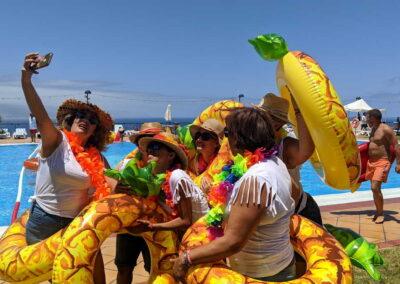 Fiesta Flotador Tropical Sociedad Tagoro 00016
