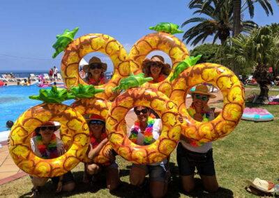 Fiesta Flotador Tropical Sociedad Tagoro 00019