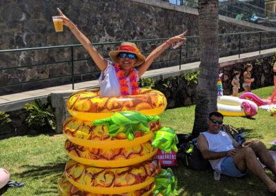Fiesta Flotador Tropical Sociedad Tagoro 00020
