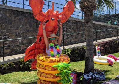 Fiesta Flotador Tropical Sociedad Tagoro 00021