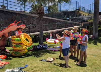 Fiesta Flotador Tropical Sociedad Tagoro 00024