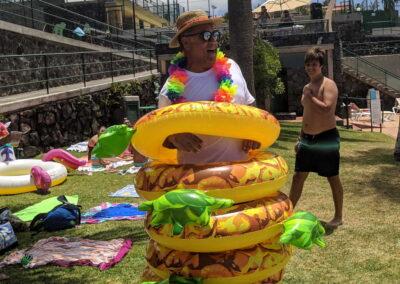 Fiesta Flotador Tropical Sociedad Tagoro 00027