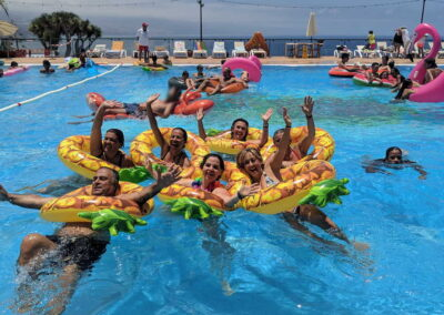Fiesta Flotador Tropical Sociedad Tagoro 00029