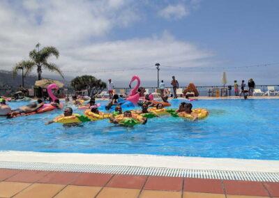Fiesta Flotador Tropical Sociedad Tagoro 00030