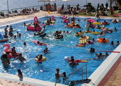 Fiesta Flotador Tropical Sociedad Tagoro 00038