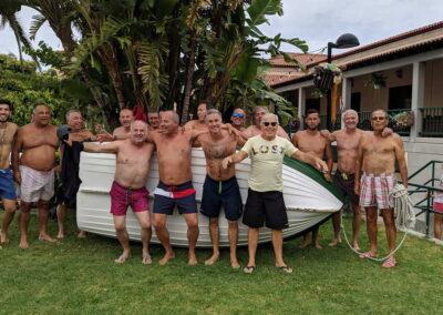 Botadura de la barca 2019 Sociedad Tagoro 00001