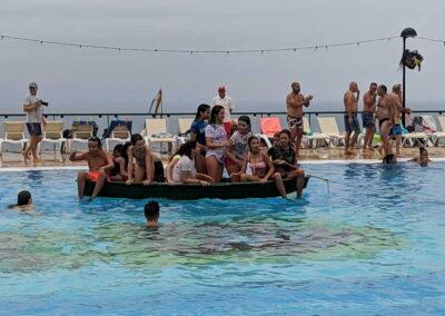 Botadura de la barca 2019 Sociedad Tagoro 00007