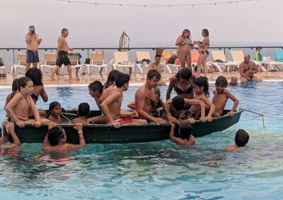 Botadura de la barca 2019 Sociedad Tagoro 00009