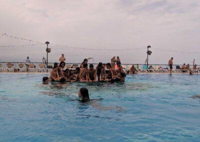 Botadura de la barca 2019 Sociedad Tagoro 00010