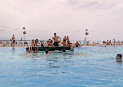 Botadura de la barca 2019 Sociedad Tagoro 00011
