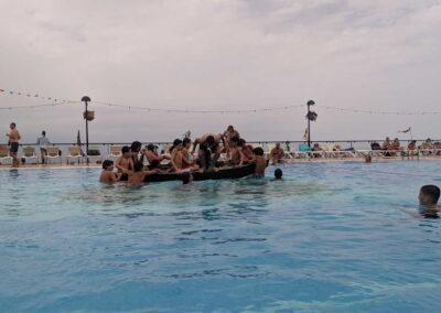 Botadura de la barca 2019 Sociedad Tagoro 00012