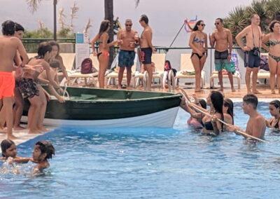 Botadura de la barca 2019 Sociedad Tagoro 00022