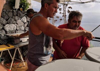 Botadura de la barca 2019 Sociedad Tagoro 00045