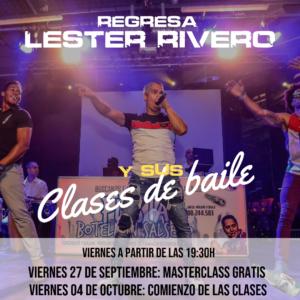 Lester Rivero | MasterClass de baile
