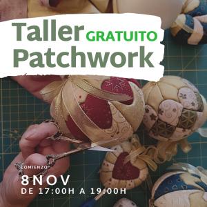 Talleres GRATUITOS de Patchwork