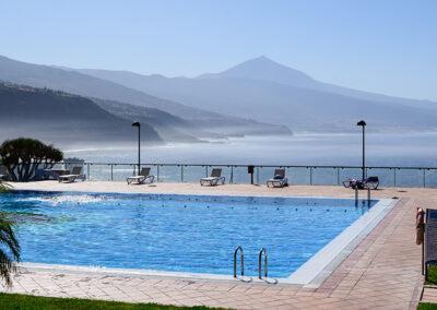 Vistas del Teide y el Norte de Tenerife desde la Sociedad Tagoro